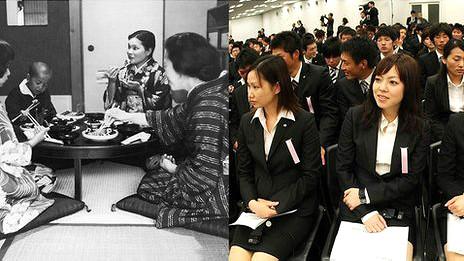 Mujeres en Japón