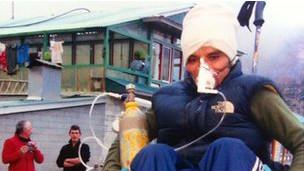 Medicina en el Everest.
