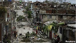 Huracán Sandy en el Caribe