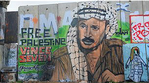 Mural de Yasser Arafat