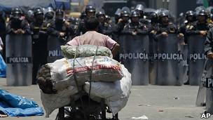 Protestas en Lima