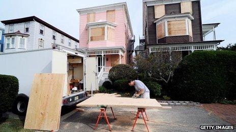 Bão Sandy đe dọa bầu cử ở Mỹ