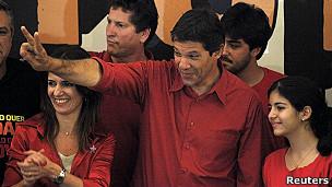 Fernando Haddad, alcalde electo de Sao Paolo