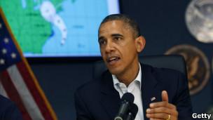 Obama en FEMA