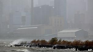 New York trong bão Sandy