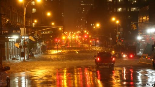 Перекресток 33-й улицы и 1-й авеню