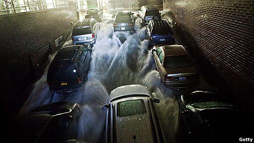 estacionamiento subterráneo en Manhattan