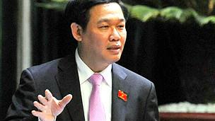 Bộ trưởng Tài chính Vương Đình Huệ