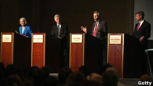 Debate entre candidatos de terceros partidos