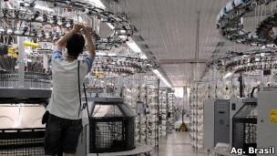 Indústria têxtil (Agência Brasil)