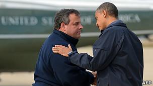 Chris Christie, gobernador de Nueva Jersey