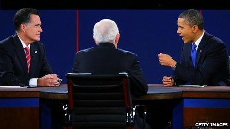 Obama - Romney debate