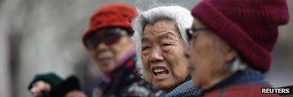 中國老年人
