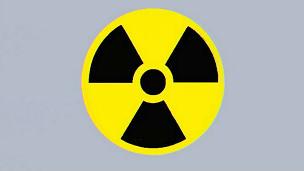Símbolo de advertencia de radiactividad  nuclear