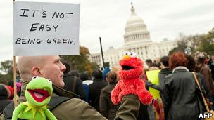 Manifestacion frente al Congreso