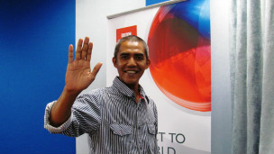 ilham anas, obama impersonator