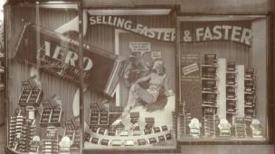 1936年巧克力广告