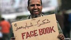 Протестующий в Каире