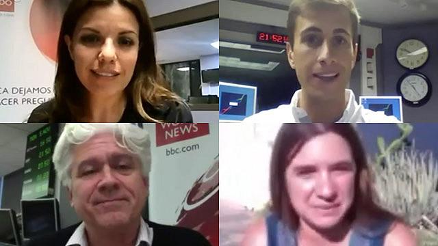 Hangout corresponsales BBC Mundo