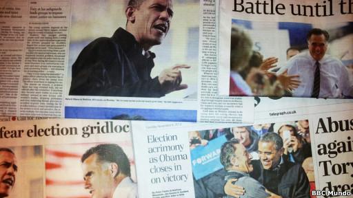 Periodicos de Obama y Romney