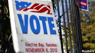 Вход в избирательный участок