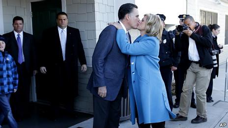 Mitt y Ann Romney