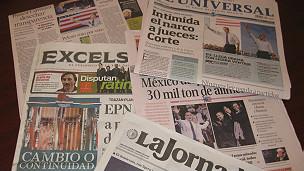 Cobertura electoral en prensa mexicana