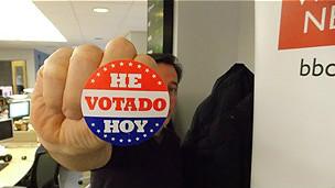 """""""He votado hoy"""""""