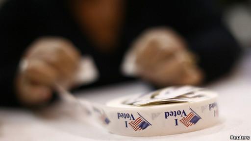 Calcomanías de Yo voté.