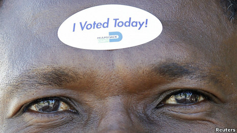 votante en Miami