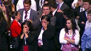 Simpatizantes de Romney lamentam derrota em Boston