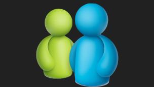 Logo del MSN Messenger de Microsoft