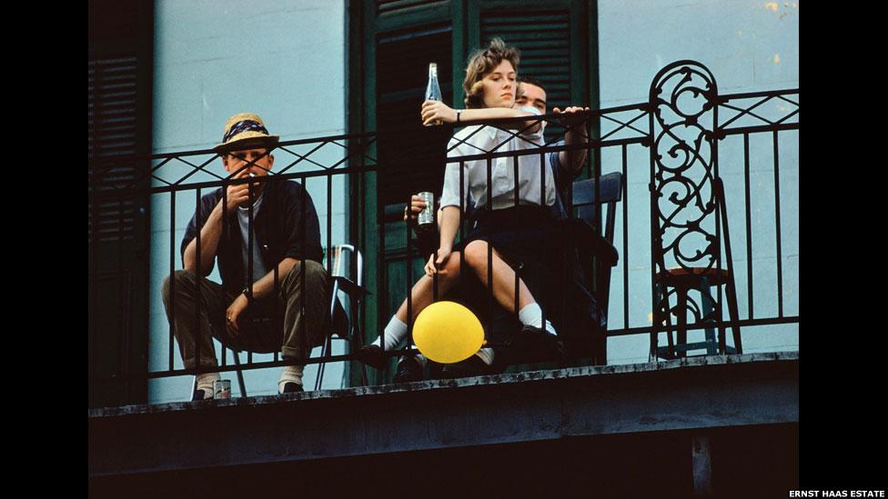 Nova Orleans, 1960, por Ernst Haas