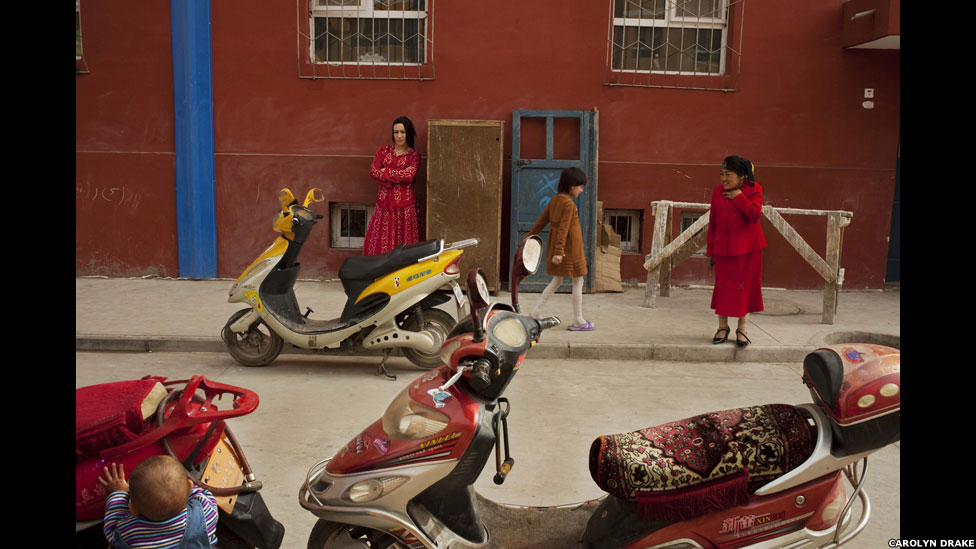 Kashgar, China, 2009, por Carolyn Drake