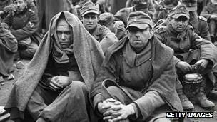 Prisioneros en la Segunda Guerra Mundial