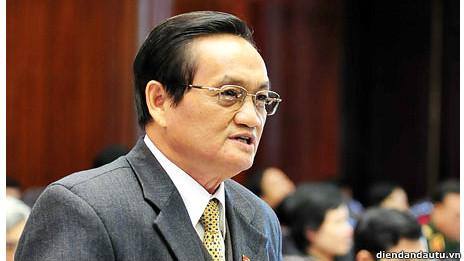 Đại biểu quốc hội Trần Du Lịch