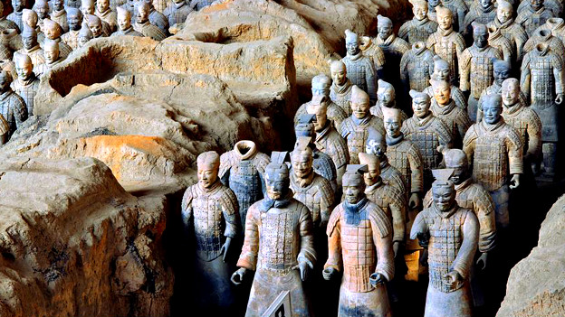 Guerreros de Terracota Foto  Xia Juxian