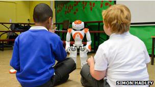 Robots profesores