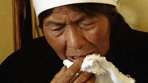 Mujer llorando en Guatemala