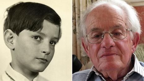 Fotos: Edgar menino - arquivo pessoal/Edgar atualmente - BBC
