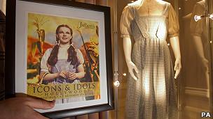 El vestido de Judy Garland