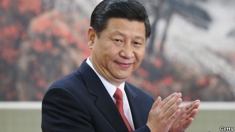 中共总书记习近平(15/11/2012)