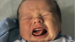 Boca de un bebé