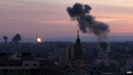 Ataque en Gaza