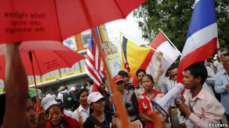 Kêu gọi cải thiện nhân quyền trước Hội nghị Thượng đỉ̀nh Asean