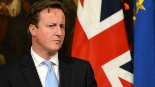 Primer ministro británico, David Cameron