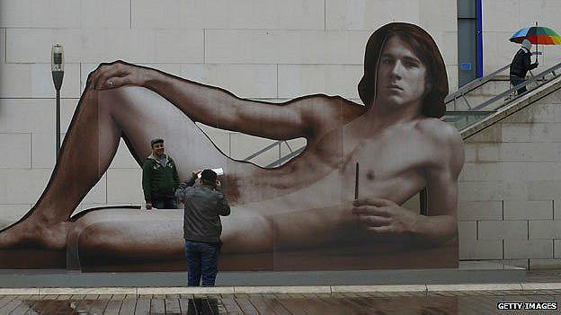 Esposición sobre el desnudo masculino en Austria
