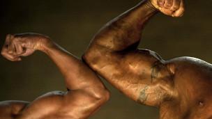 صحة،مفتولي العضلات،رجال، عمر ،طويل