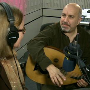 Ara Dinkjian BBC Türkçe stüdyosunda