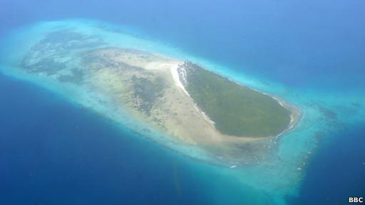 Ilha deserta na Tanzânia | Foto: BBC